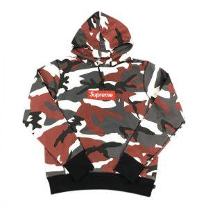 supreme box logo Multi hoodie