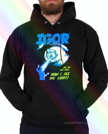 'IGOR Got My Eyes Open Now I See the Light' Tyler The Creator Hoodie ( Black )