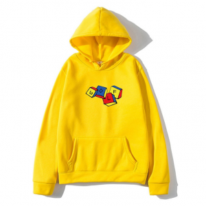 Tyler The Creator Golf Wang Cube Unisex Pullover Hoodie ( Yellow )