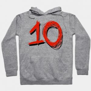 Anthony Fantano Needle Drop Perfect Rating 10 Hoodie