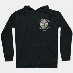 Death Grips Fitness Club Black Hoodie