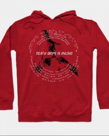 New Arrival Death Grips is Online Red Hoodie
