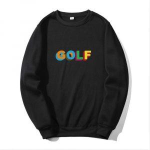 Tyler The Creator Golf Wang Skate Crewneck Sweatshirt ( Black )