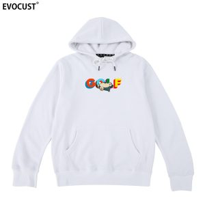 'Needs 5 More Minutes Of Napping' Golf Wang Unisex Hoodie ( White )