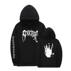 High Quality Revenge Kill Bad Vibes XXXtentacion Black Hoodie
