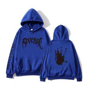 Newest Rapper Xxxtentacion 3D Print Blue Hoodie