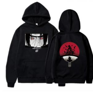 Naruto Hoodies Anime Streetwear Autumn Winter Coat Fashion