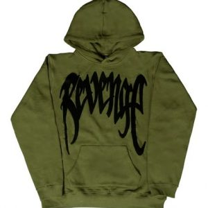 Revenge Chenille Army Patch Hoodie