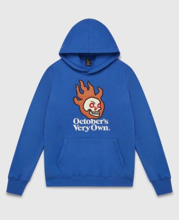 OVO Hot Skulls High Quality Hoodie