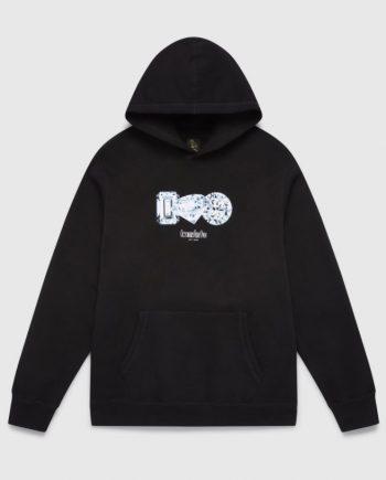 OVO Diamond Logo Print Hoodie