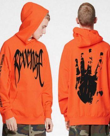 XXXtentacion Orange Revenge Hoodie