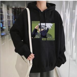 Winter Hoodies Sweatshirts Naruto Hoodie KAKASHI Anime Hoodie Streetwear