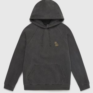 OVO Garment Dye Embroidery Hoodie