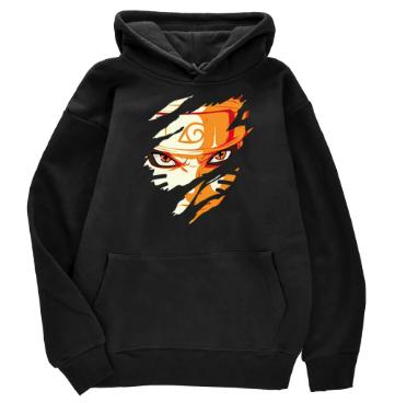 Naruto Japan Anime Printing Street Pullover Hoodies