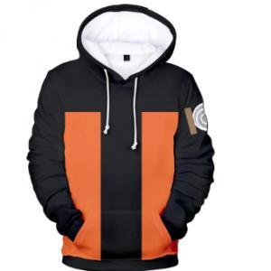 Popular Sweatshirt Naruto Hoodie Boy/girl Pullover High Quality Spirited