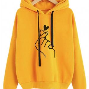 Women's Top Sweatshirt and Hoody Ladies Oversize