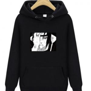 2020 fashion naruto Hoodies Streetwear itachi pullover Sweatshirt Men Fashion