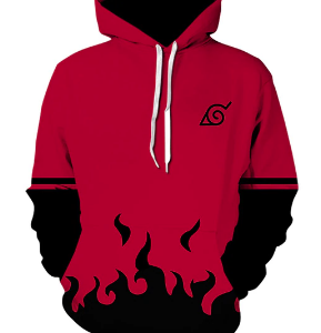 Anime Naruto Hoodie Fall Harajuku Kakashi Custom Sweatshirt Men Sasuke