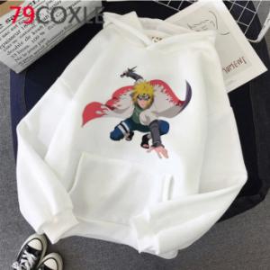Naruto Akatsuki hoodies male plus size harajuku hip hop graphic men
