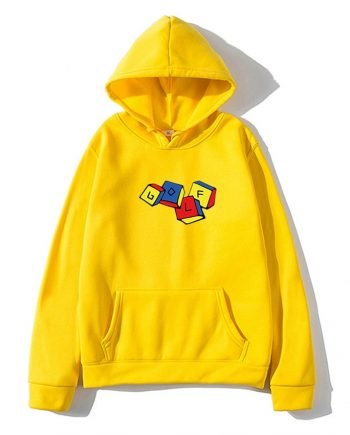 GOLF WANG x Tyler The Creator Cube Pullover Hoodie ( Yellow )