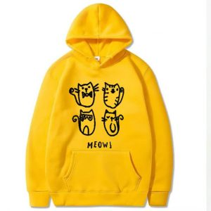 Yellow Pullover High Quality Hoodie