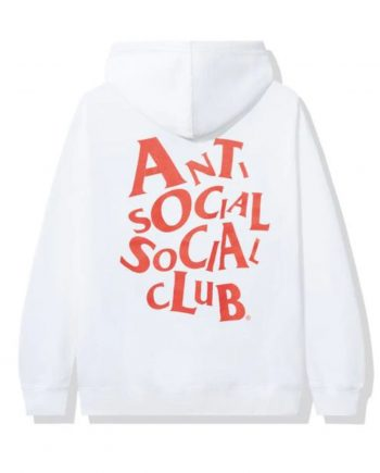 Anti Social Social Club Complicated Hoodie- Black (Back)