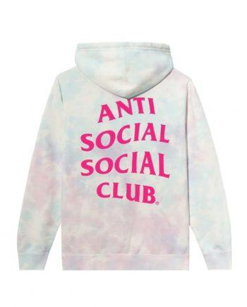 Anti Social Social Club Ice Cream Paint Job Hoodie- Multi (Back)