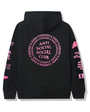Anti Social Social Club Mantras Hoodie- Black (Back)