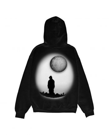 Juice WRLD 999 Moonlight Hoodie - Black (Back)