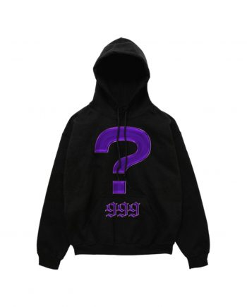 Juice WRLD 999 Mystery Hoodie - Black (Front)