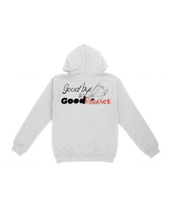Juice WRLD Goodbye & Good Riddance Hoodie - White (Back)